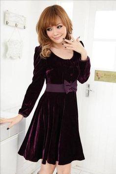 Kadife Elbise Modelleri ve Fiyatları 2012