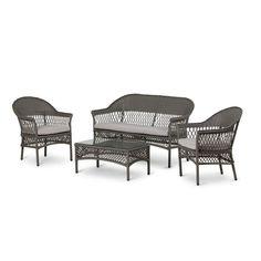 Sofagruppe Fyn Outdoor Furniture, Outdoor Decor, Sun Lounger, Sofa, Elegant, Home Decor, Classy, Chaise Longue, Couch