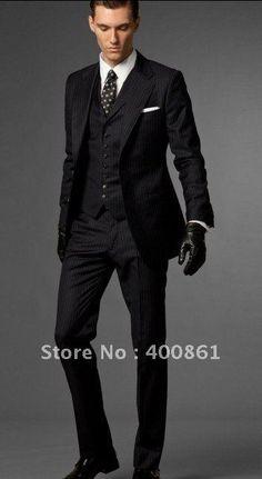 Custom Made Classic Men's Wedding  Groom Tuxedos I AM SO LOVING THIS!!!