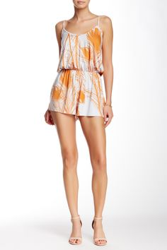 Miles Printed Playsuit by Rachel Pally on @HauteLook