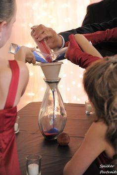 Family sand vase