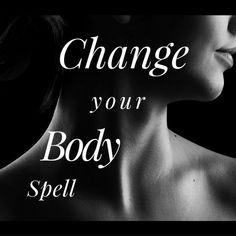 Use this spell to help change your body. Choose a body part that you want to either reduce or increase with this easy to cast spell. Witchcraft Spell Books, Wiccan Spell Book, Magick Spells, Healing Spells, Mermaid Spells, Health Spell, Witchcraft Spells For Beginners, White Magic Spells, Beauty Spells