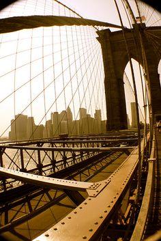 #Brooklyn Bridge #NYC Skyline taken by Jason Bleakley, Principal of Steelmark Business Services