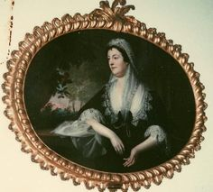 Benjamin West's portrait of Mrs Martha Vandewall. She was living at No. 21 (present numbering) Harley Street in 1765 http://bathartandarchitecture.blogspot.co.uk/2014/01/the-william-seward-martha-vandewall.html
