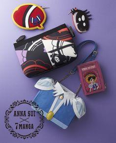 ANNA SUI より、「リボンの騎士」「ユニコ」コラボアイテム発売!:グッズショップ:ニュース:TezukaOsamu.net(JP) 手塚治虫 公式サイト