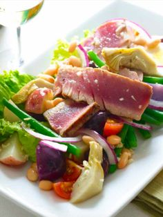 Why I Love Nicoise Salad with my favorite recipe