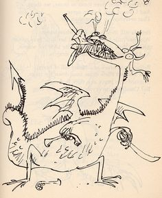 Custard and Company poems by Ogden Nash, illustrated by Quentin Blake Quentin Blake Illustrations, Roald Dahl Books, Children's Book Writers, Stories For Kids, Children's Book Illustration, My Drawings, Dragons, Ogden Nash, Character Design