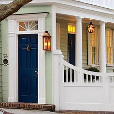 What They Did: Street Facade - Charleston Rebuild with Character - Southern Living