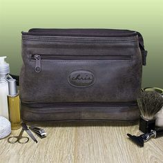 68a33bb705 Christmas Gift Ideas for the Man in your Life. Large Toiletry  BagPersonalized ...