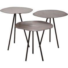Tables d'Appoint Epoca - 3 Pièces - Joss & Main - 538,95 €
