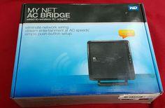 WD Western Digital My Net 4 port Gigabit WiFi AC Bridge WDBMRD0000NBL #WesternDigital