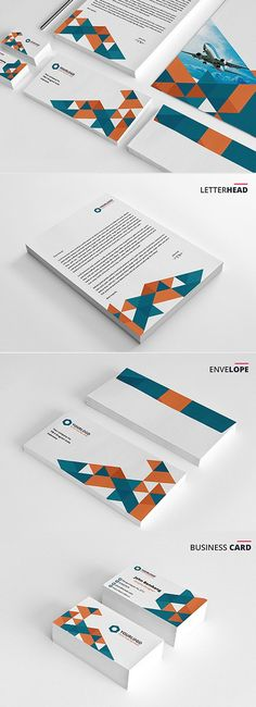 Triangle Stationery Branding Pack