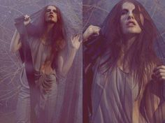 100 Eerie Macabre Editorials - Editorial Inspiration for Fashionable Halloween Costume Ideas