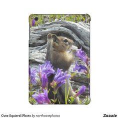 Cute Squirrel Photo iPad Mini Cases