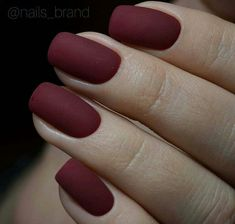 The best collection of 45 Gorgeous Summer Nails Simple Acrylic Nails, Best Acrylic Nails, Matte Nails, Simple Nails, Gel Nails, Jolie Nail Art, Burgundy Nails, Dipped Nails, Dream Nails
