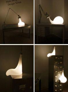 Bizarre Bulbs: Unique Lighting Design & Art Installation PIEKE BERMANS