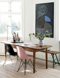 A HOME WITH BEAUTIFUL ART IN COPENHAGEN | THE STYLE FILES