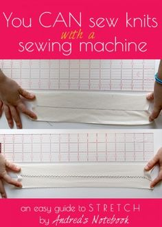 you-can-sew-knits-with-a-sewing-machine http://www.howdoesshe.com/20-easy-sewing-tips-and-tricks-youre-going-to-love/