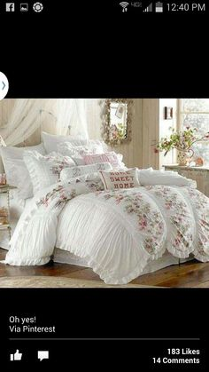 About Sweet Dreams On Pinterest Bedding Shabby And Shabby Chic