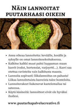 OIkea lannoitus saa pihasi kukoistamaan! Jos jätät lannoittamatta tai liioittelet, kasvit voivat huonosti. Tässä neuvoja.    www.puutarhapalvelucreative.fi