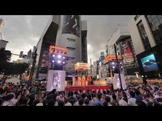 Not a vlog, no intrusive faces or talking, pure Japan only. First time for many years Shibuya had its own obon odori festival. Japanese Festival, Advertising Campaign, Club, Travel, Design, Viajes, Destinations, Traveling
