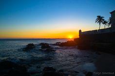 Pôr do Sol no Porto da Barra