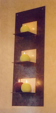 Candle Sconces, Wall Lights, Shelves, Candles, Home Decor, Appliques, Shelving, Decoration Home, Room Decor