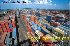 Cybex Exim provide all types of Import Export Data India, It's also Indian Customs derived from daily shipments data provider
