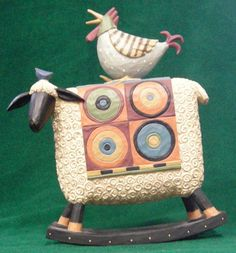 Free Range Rocker from the Williraye Studio Everyday Collection at the Cottage Gift Shop - Elmira, NY