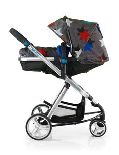 Cosatto | Woop | Megastar. The Cosatto Woop in Megastar is the perfect pram and pushchair for your newborn. Inspired by sports and athleisure this classic travel system with a patterned twist is everything a new parent needs. In stock £424.95