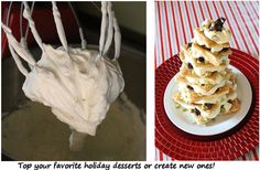 Eggnog Whip Cream Recipe ~ Great, yummy topping for cakes and cupcakes.
