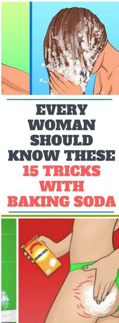Every Woman Should Know. These 15 Tricks With Baking Soda...!!!!
