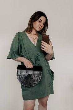 Bag goes Bambus à la Cult Gaia: Das sind die Taschen-Trends im Sommer 2019 - Casual Chic Outfits, Fashion Weeks, Gaia, German Fashion, Elegant, Outfit Of The Day, Fashion Trends, Fashion Bloggers, Inspiration