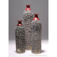 Ceramic Textured Bottle Bud Vase  Flower Vase  by blueroompottery, $34,00