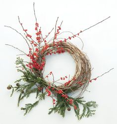 Elevate a honeysuckle wreath from humble to high-impact in four easy steps.