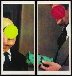 Money, with Space Between, 1994, John Baldessari (born 1931)