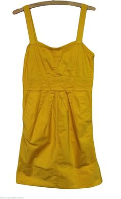 Marc By Marc Jacobs Dress Yellow Cotton Sundress Dress with POCKETS!  @Michelle Coleman-HERS