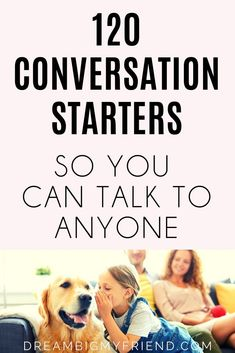 Looking for some conversation starter questions? 120 Deep Conversation Starters + Questions (About The Important Stuff)