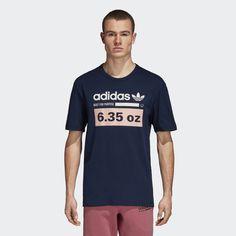huge selection of 051a3 8ea5a adidas Kaval Tee - Blue  adidas US