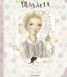 """""""Marieta"""" es la biografía de Marie Curie narrada por Miranda para niños de 8 años. Itziar Miranda, Nacho Rubio y Jorge Miranda son los autores de la colección """"Miranda"""", ilustrada por Lola Castejón (Thilopia)."""