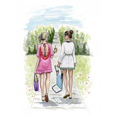 Sullivans Boardwalk (Print) | Rebecca Hinson | Artist, Oil Painter, Illustrator