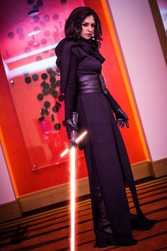 Kylo Ren from Star Wars: The Force Awakens Cosplay