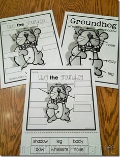 My (Not So) Elementary Life: Groundhog's Day Resources & Giveaway!!!