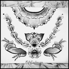Black and white drawing and watercolor I've been working on - enjoy! #draw #drawing #watercolor #black #blackandwhite #paper #paint #painting #pen #ink #tattoo #tattooideas #tattooideas #henna #mehndi #kellycaroline #michigan #michiganart #michiganhenna #ypsi #ypsilanti #leaves #symmetry #flowers #shading