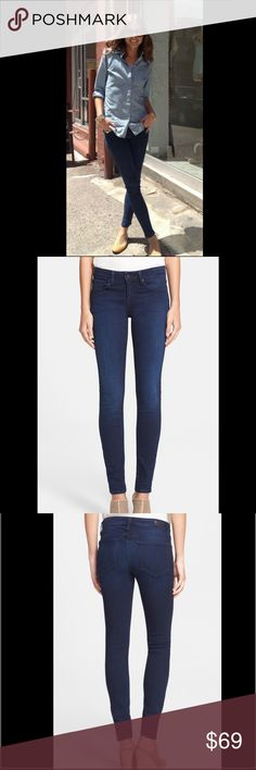 "JOIE SKINNY JEANS I love Joie clothing. They are well made, stylish and made well.. What more can a girl ask for? Mid-rise skinny jeans. 29"" inseam, 25"" waist. Great condition. Joie Jeans Skinny"
