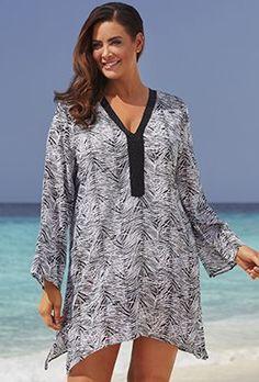 6a8947e4df4 184 Best Beachwear - Beach Dresses   Beach Tunics - Plus Size images ...