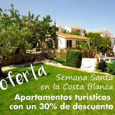 #oferta #semanaSanta2016 #CostaBlanca #Playa #apartamento #vacaciones #pascua 966400400 o www.bellavistaresidential.com Spanish, Spring Break, Easter, Tourism, Beach, Spanish Language, Spain