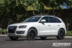 """2010 Audi Q5 with 20"""" Gianelle Wheels by Wheel Specialists, Inc. in Tempe AZ . Click to view more photos and mod info."""