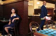 Shakara Couture | 1950s Themed Session by Isaac Emokpae