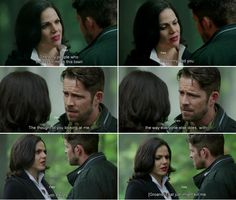 """""""The thought of you looking at me the way everyone else does, with hatred. That just might kill me."""" Regina - 4* 9 """"The Fall.""""#ShatteredSight #OnceisFrozen"""